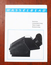 HASSELBLAD PRISM FINDER PM INSTRUCTIONS/43217