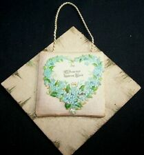 1898 Antique Art Novelty Valentine With Original Shipping Box-Wall Hanging-Moore