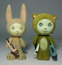 """TARA McPHERSON ADVENTURES of ACE and ION 4"""" by KIDROBOT LE/1500"""
