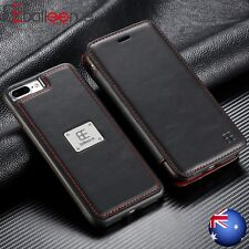 Luxury Magnetic Detachable Leather Wallet Flip Case Cover For iPhone 8 7 6s Plus