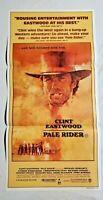 1985 Clint Eastwood Pale Rider Cowboy Western Movie Insert Vintage Original