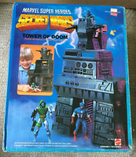 VINTAGE MARVEL SECRET WARS TOWER OF DOOM PLAYSET MISB SEALED MATTEL 1984