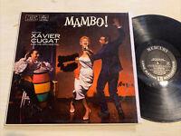 Xavier Cugat Mambo! LP Mercury Mono Deep Groove GD+