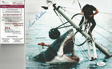 Jaws 1st Victim autographed 8x10 photo Brody battling Jaws Jsa Certified