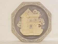 Bradford Exchange 125 Main Street Series Collector Plate Victorian Home Blue