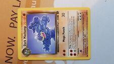 Pokemon Cards: Team Rocket Set Dark Machamp 27/82