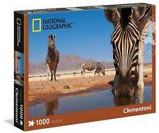 National Geographic Zebra Puzzle 1000 PZ Clementoni