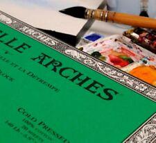 Bloc Arches Papier Aquarelle Grain Fin 300 grs format 26x36 cm 20 feuilles