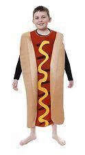 Kids Hot Dog Frankfurter Unisex Novelty BBQ Childrens Costume