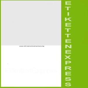 DHL Klebeetiketten für online Frankierung Hermes Paketschein + Beleg A4 Drucker