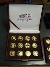 $100 Million Gold Classics Collection, Replicas, with case