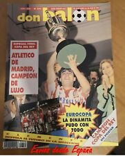 Revista Don Balon Nº 870 AT: Madrid campeón copa del Rey (1992)