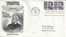 U.S. #12813¢ Francis Parkman First Day Cover Fleetwood Cachet