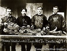 Anatomy Students with a Cadaver - 1901 - Historic Photo Print
