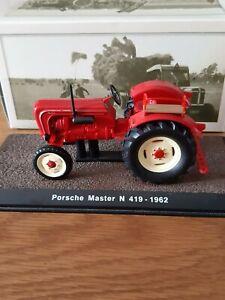 Atlas Editions 1/32 Tractors Porsche Master N 419 - 1962  Die Cast Model
