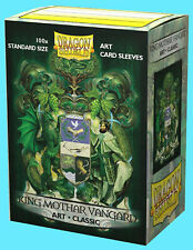 100 DRAGON SHIELD KING MOTHAR VANGARD STANDARD CLASSIC ART Card Sleeve Coat Arms