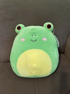 """Squishmallow Wendy the Frog 12"""" NWT"""