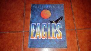 THE LEGEND OF EAGLES SPARTITO SCORE MUSIC SHEET VOICE PIANO GUITAR WARNER 1988
