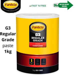 Farecla G3 Rubbing Compound Regular Cutting Paste 1kg Tub Car Polishing