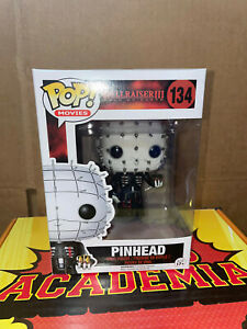 Funko Pop! *DBL Boxed* PINHEAD #134 *NEW* Hellraiser III Hell On Earth
