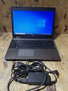 """HP ProBook 6560b 15.6"""" Intel Core i5-2520M 2.5GHz 4GB RAM 320GB HDD Win 10 A585"""