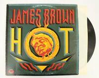 James Brown- Hot- Polydor PD 6059 Soul Funk LP VG VG
