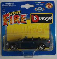Bburago-BMW 645ci convertible dunkelblaumet. 1:43 nuevo/en el embalaje original blister