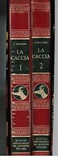 Perosino, LA CACCIA, De Agostini 1970 I ed. 2 vv.