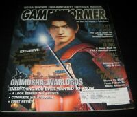 Vintage Game Informer Magazine Nintendo PS Playstation Video Games 2001 issue 95