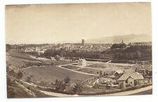 D005 Photographie vintage original Suisse 1873 Albuminé Albumen