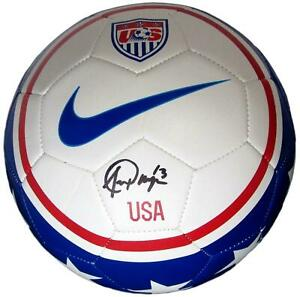 Alex Morgan signed Nike USA Soccer Ball 2019 World Cup mint autograph JSA