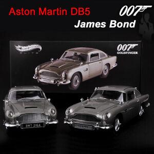 Hot Wheels 1:18 Diecast Car Model Aston Martin DB5 JAMES BOND (007:GOLDFINGER)