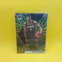 Zion Williamson Mosaic Green Prizm Rookie Card - VINYL STICKER - NBA Pelicans RC