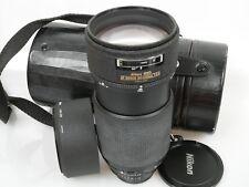 Nikon ED AF NIKKOR 80-200 1:2,8 2,8/80-200 + Geli lens hood HN-28 + case CL-43