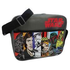 Star Wars Messenger Schultertasche mit Retro Vintage Comic Style Design-Ace!