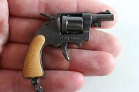 VINTAGE 1980 MINI CAP GUN Miniature Key chain TOY MADE IN HONG KONG