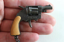 VINTAGE 1980 MINI CAP GUN Miniature Key chain TOY MADE IN HONG KONG
