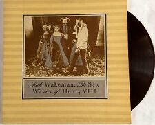 "Rick Wakeman - The Six Wives of Henry VIII - 12"" Gatefold LP"