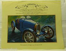 * - Bugatti 1924-AUTO D'EPOCA-AUTOMOBILE-Vintage collezione Aral-ben