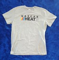NASCAR HEAT 2 Video Game Launch Promo T-Shirt Size Large NEW!