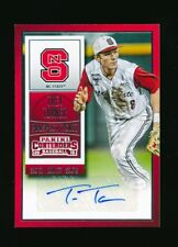 TREA TURNER 2015 PANINI CONTENDERS PROSPECT TICKET AUTOGRAPH AUTO RC *NATIONALS*