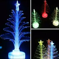 1* Mini Color Changing Christmas Tree LED Lights Lamp Home Party Decor