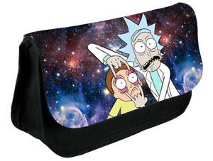 Rick and Morty-Galaxy Themed pencil case..make up case,back to school gift