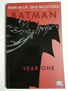 Batman Year One TPB (2005) Soft cover, Frank Miller