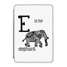 """E è per ELEFANTE CASE COVER Per Kindle 6 """"e-reader - DIVERTENTE alfabeto Carino"""