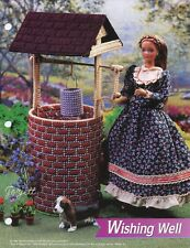 Wishing Well ~ fits Barbie dolls, Annie's plastic canvas pattern leaflet