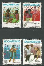 Mozambique 1994 Drug Abuse--Attractive Medicine Topical (1231-34) fine used