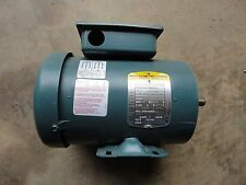 N.O.S. INVERTER READY BALDOR M15B102505833-001,.5 HP 3 PHASE ELECTRIC MOTOR