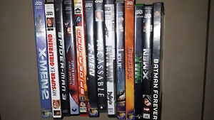 lot 13 dvd super heros marvel divers