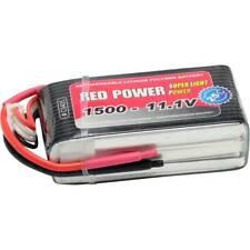 Red power batteria ricaricabile lipo 11.1 v 1500 mah numero di celle 3 25 c